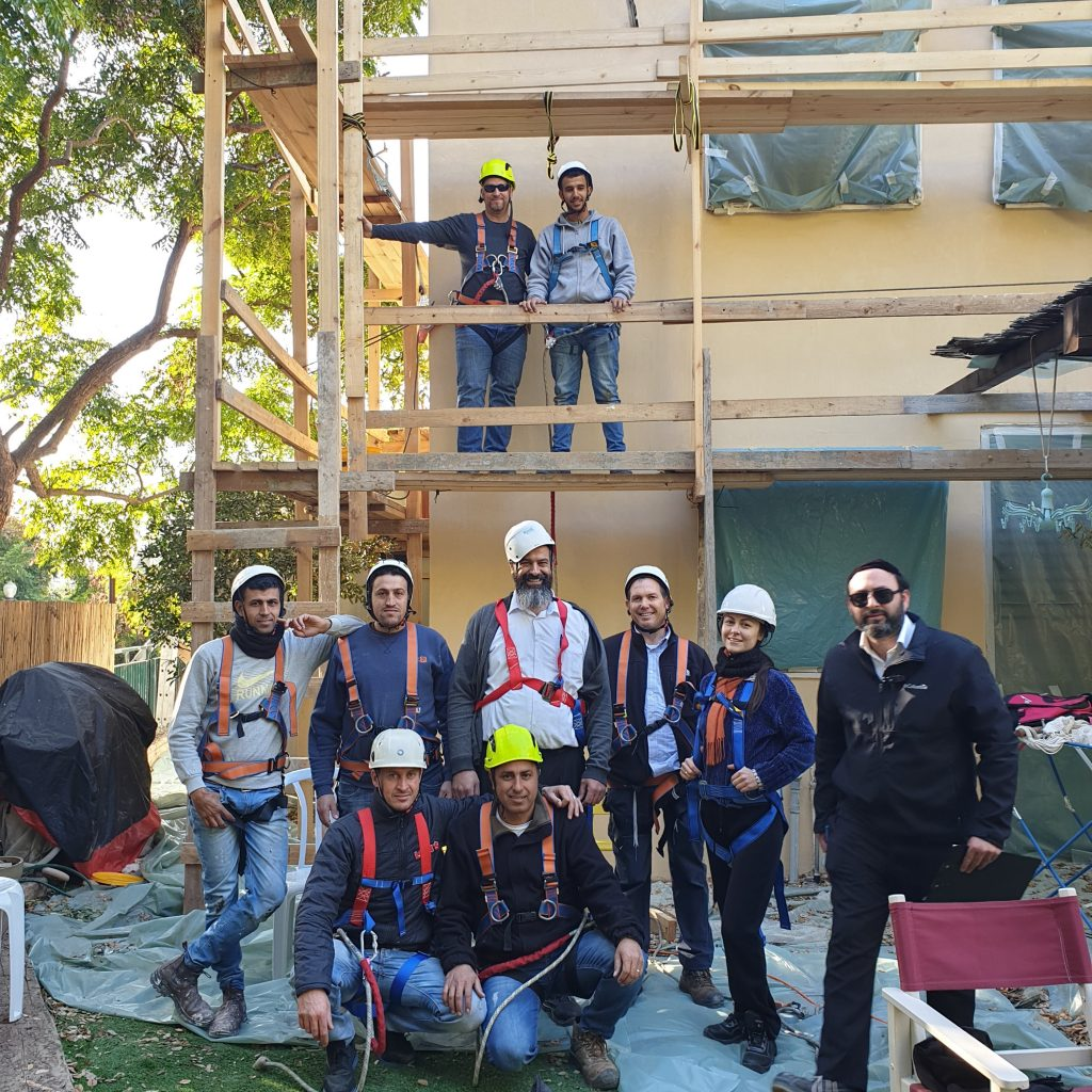 בטיחות בעבודה בגובה